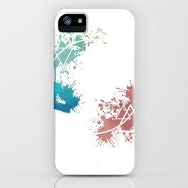 Spring Circle iPhone Case