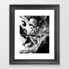 The Boogeyman Framed Art Print