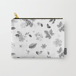 Yellow Flowers & White Roses 7 Carry-All Pouch