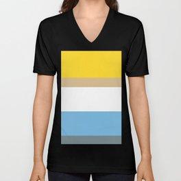 Colours of Homer Unisex V-Neck