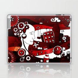 urban-city in a dream Laptop & iPad Skin