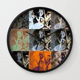 Icescape II Wall Clock