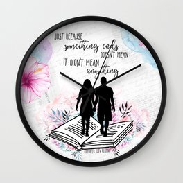 Literally - Just Because Wall Clock