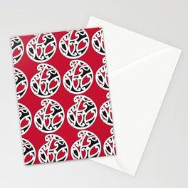 MAD HUE AOTEAROA Red Stationery Cards