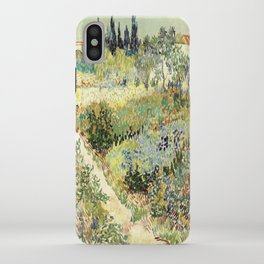 Vincent Van Gogh : Garden at Arles iPhone Case