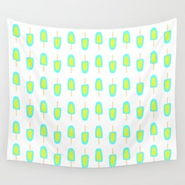 Lime & Lemon Popsicles Wall Tapestry
