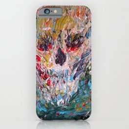 AWARE FOR EVER IN ITS MOTIONLESS DEPTHS iPhone Case