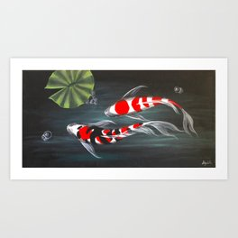 Koi Creek 2 Art Print
