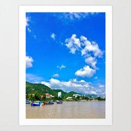 Vietnam NhaTrang Art Print