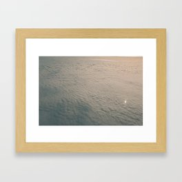 cloudcarpet - one Framed Art Print