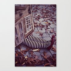 Wicked Witch of The East II  Canvas Print