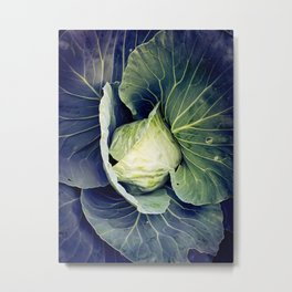 Lettuce Be Thankful Metal Print