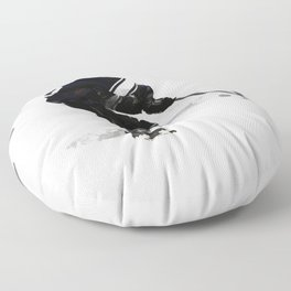 The Deke - Hockey Player Floor Pillow