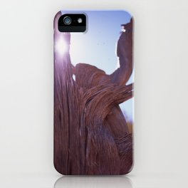 Dead Tree at Arches iPhone Case