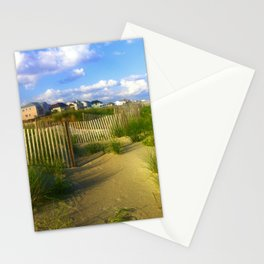 Oceanfront Property Stationery Cards