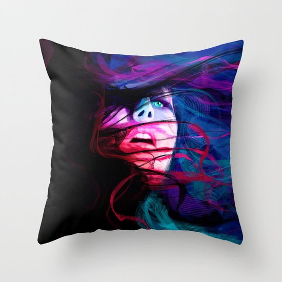DROWN Throw Pillow