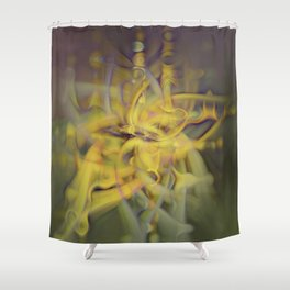 A Kinder, Gentler Abstract on Drugs Shower Curtain