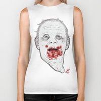 silence of the lambs Biker Tanks featuring Ready when you are, Sergeant Pembry. // Silence of the Lambs by boy Roland