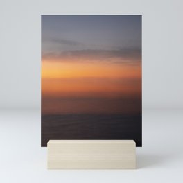 Blended Sunset Over the Bay, Rothko Inspired Exposure Mini Art Print