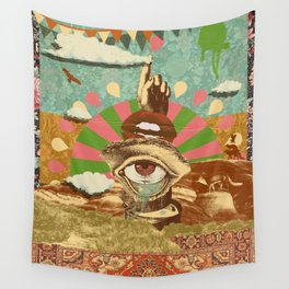 AFTERNOON PSYCHEDELIA Wall Tapestry