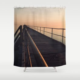 The Port Germein jetty is the longest in South Australia and, reputedly, the longest in the southern Shower Curtain