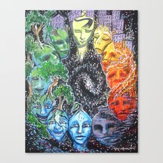 Time & Space Canvas Print