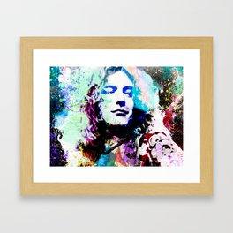 R. Plant Framed Art Print