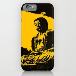 """""""Silence Is Golden"""" iPhone Case"""