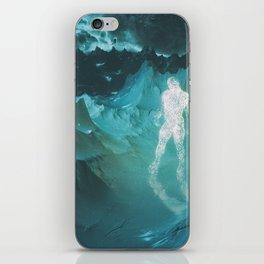 particlemanplanet iPhone Skin