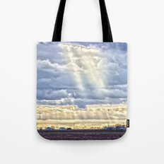 Countryside Rays of Light Tote Bag