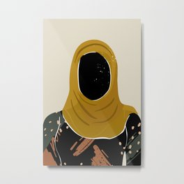 Black Hair No. 13 Metal Print