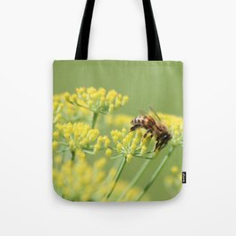Fennel and the bee Tote Bag