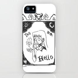 Ouijandra iPhone Case