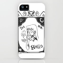 Ouijandra iPhone Case