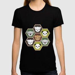 Kawaii Autumn Bears T-shirt