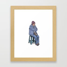 Señora Framed Art Print