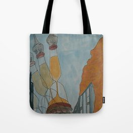 Illusion of Time Tote Bag