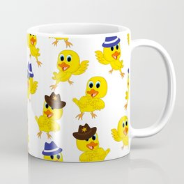 Funny Yellow Duck Neck Gaiter Duckling Neck Gator Coffee Mug