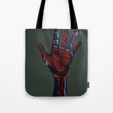 Hand of Death Tote Bag