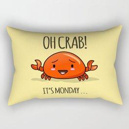 Crabby Day! Rectangular Pillow