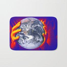 Global warming Bath Mat