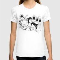 leo T-shirts featuring Leo by Cassandra Jean