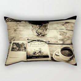 ...  coming to terms  ... Rectangular Pillow