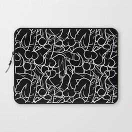 Schlong Song in Black, All the Penis! Laptop Sleeve