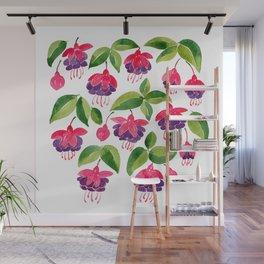 Fuchsias Wall Mural
