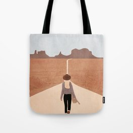 Through the Desert Highway IV Tote Bag