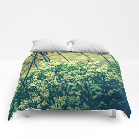 Bloom With Wild Abandon Comforters