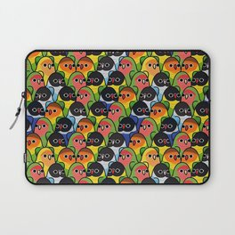 Too Many Birds love brid Laptop Sleeve