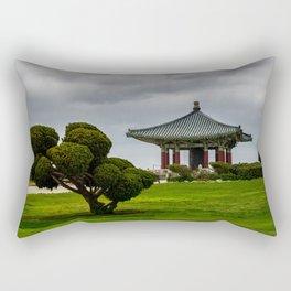 Korean Bell of Friendship Rectangular Pillow
