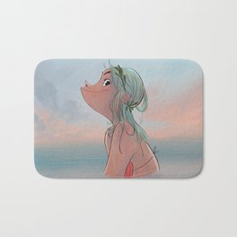Summer morning Bath Mat